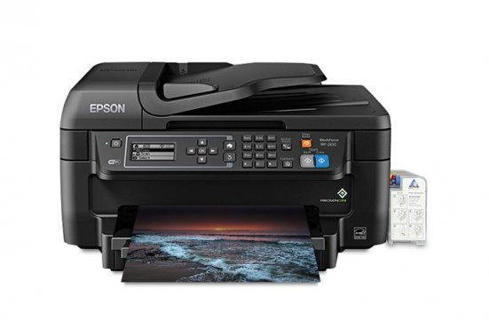 изображениеМФУ Epson Workforce WF-2650 Refurbished с СНПЧ