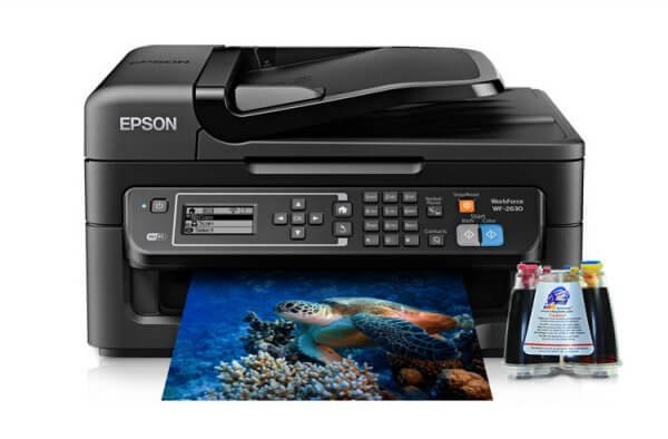 МФУ Epson Workforce WF-2630 Refurbished с СНПЧ