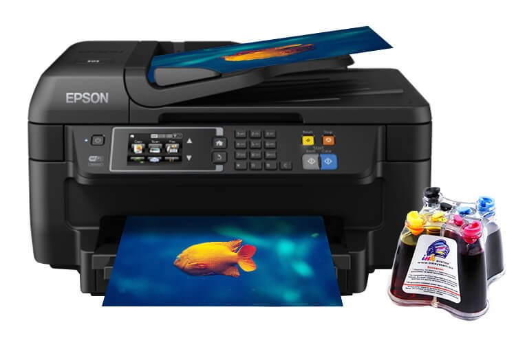 МФУ Epson Workforce WF-2660 Refurbished by Epson струйный с СНПЧ