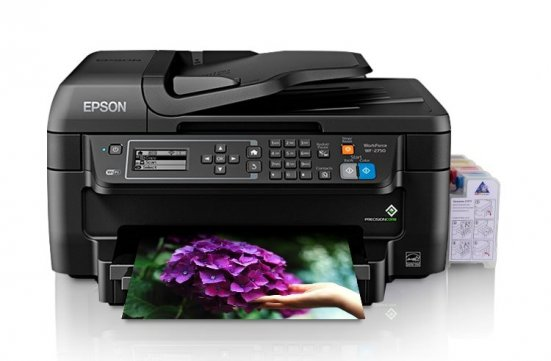 изображениеEpson WorkForce Pro WF-2750 МФУ с СНПЧ