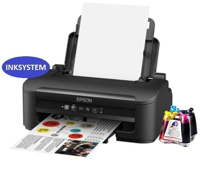 Принтер Epson Workforce WF-2010W с СНПЧ