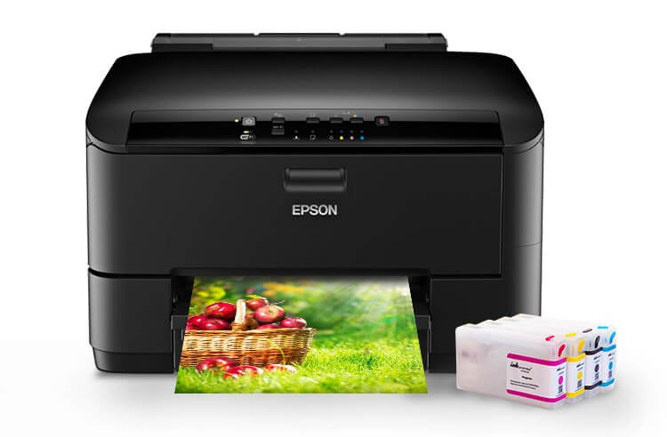 Принтер Epson WorkForce Pro WP-4020 с ПЗК