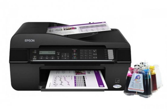 фото МФУ Epson Stylus Office BX320FW с СНПЧ