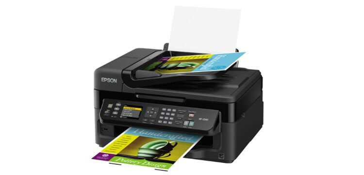 Epson WF-2540 Refurbished с СНПЧ 2