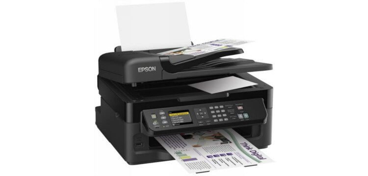 Epson WF-2540 Refurbished с СНПЧ 3