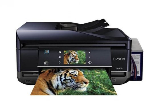 фото МФУ Epson Expression Premium XP-800 Refurbished с СНПЧ