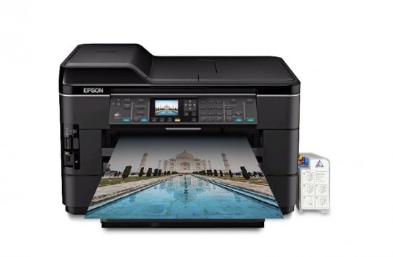 изображение МФУ Epson WorkForce WF-7520 Refurbished с СНПЧ