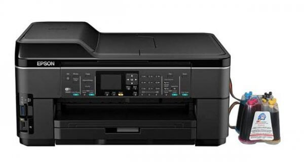 МФУ Epson WorkForce WF-7510 Refurbished с СНПЧ